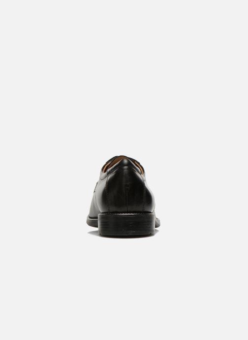 Geox U FEDERICO W U2257W (schwarz) Schnürschuhe bei