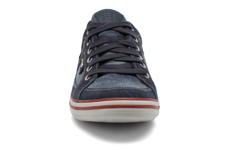 Baskets Geox U BOX D U44R3D Bleu vue portées chaussures