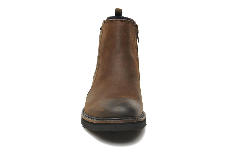 Bottines et boots Geox U CHESTER ABX U44T5D Marron vue portées chaussures