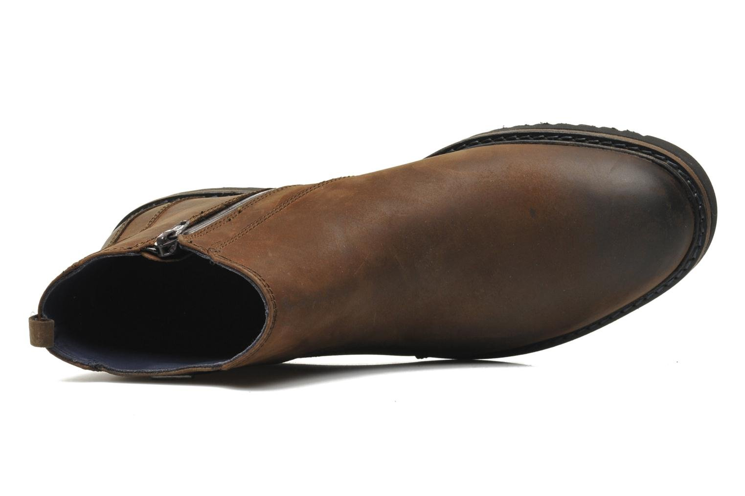 Ankle boots Geox U CHESTER ABX U44T5D Brown view from the left