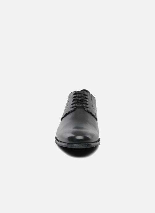 Geox U ALBERT 2FIT F U44W3F (Noir) Chaussures à lacets