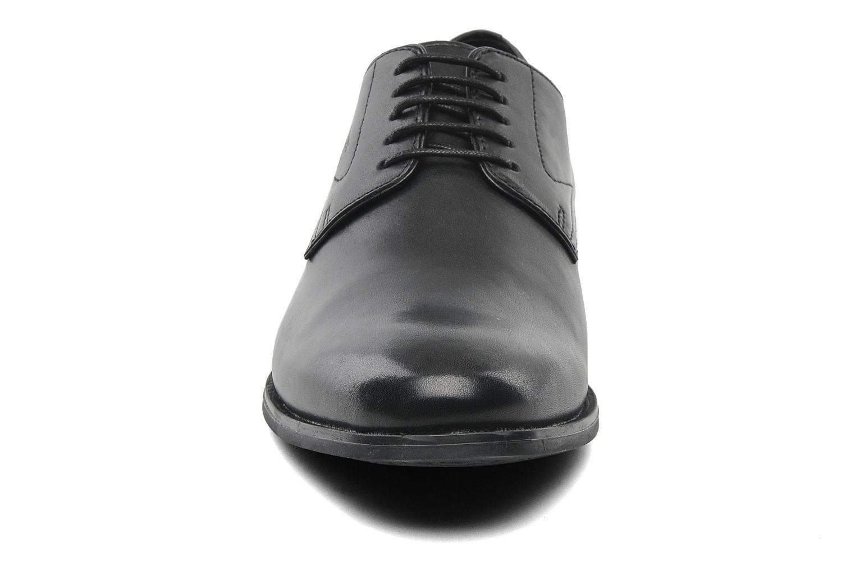 Chaussures à lacets Geox U ALBERT 2FIT F U44W3F Noir vue portées chaussures