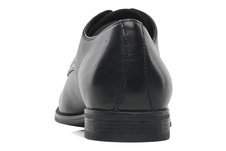 Chaussures à lacets Geox U ALBERT 2FIT F U44W3F Noir vue droite