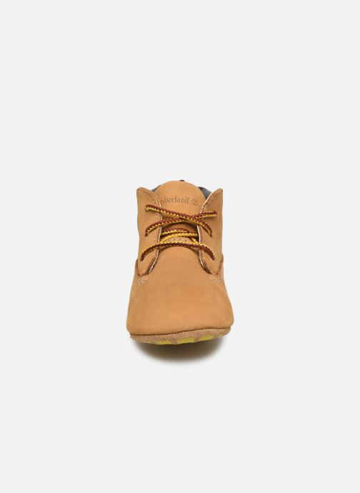 Slippers Timberland Crib Bootie with Hat Beige model view