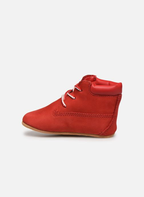Chaussons Timberland Crib Bootie with Hat Rouge vue face