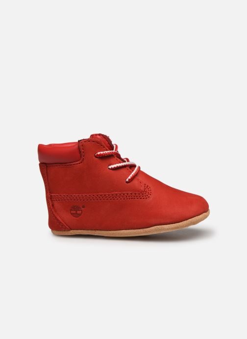 Chaussons Timberland Crib Bootie with Hat Rouge vue derrière