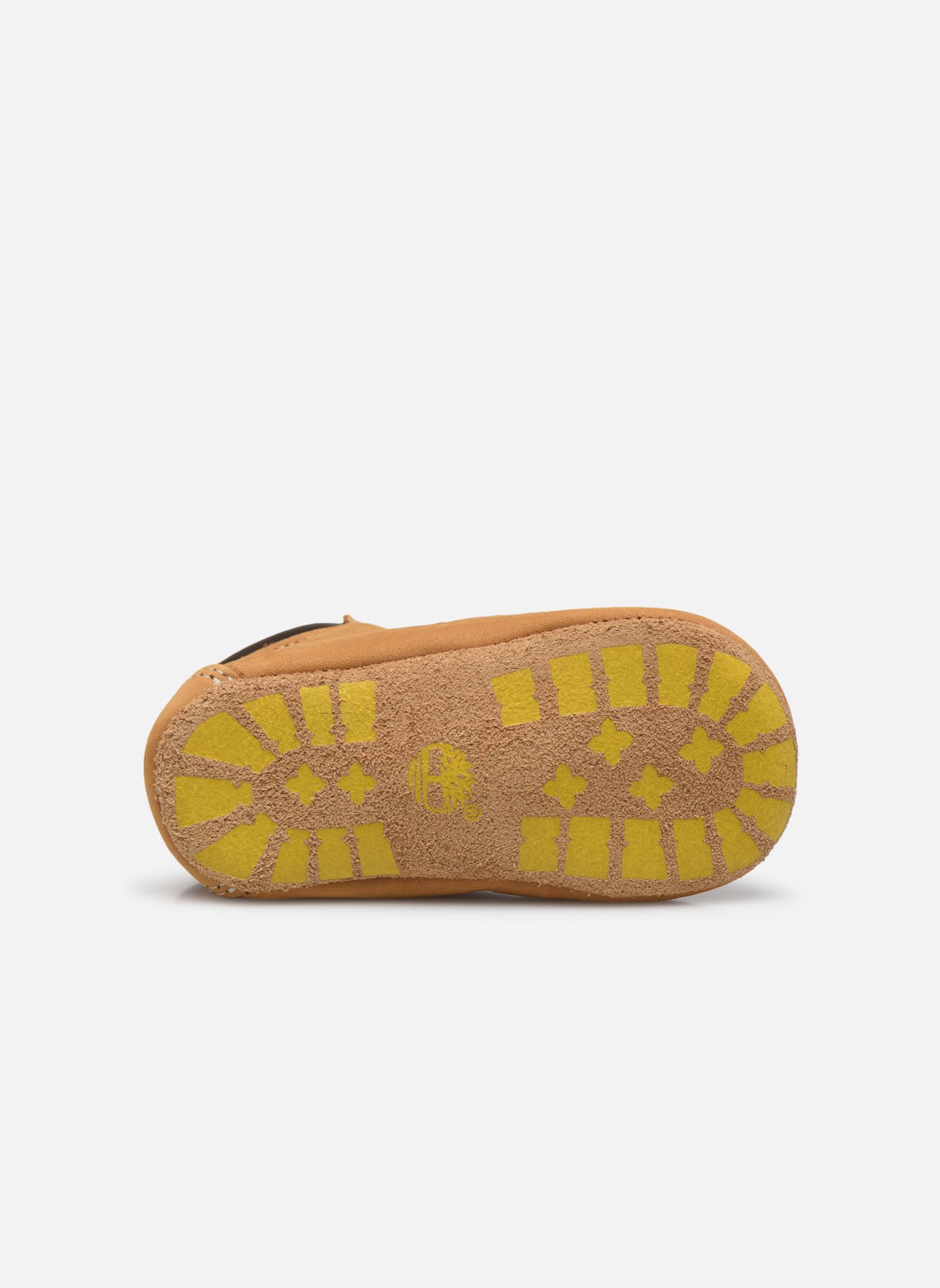 Hausschuhe Timberland Crib Bootie with Hat beige ansicht von oben