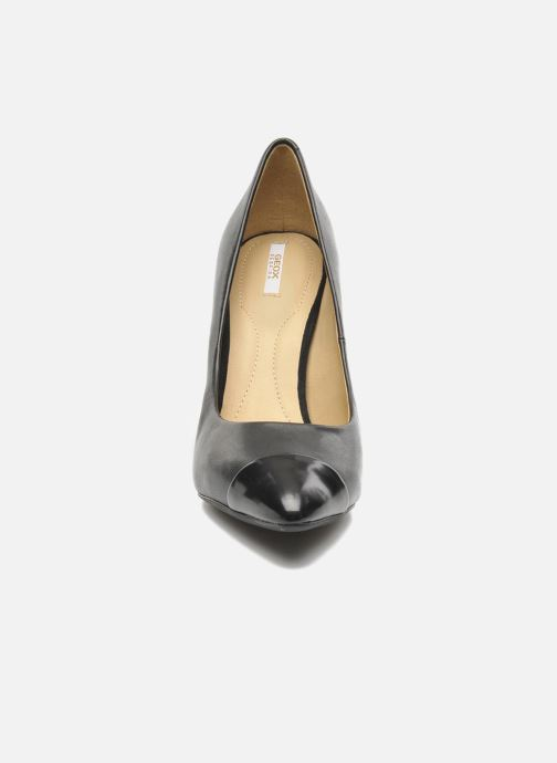 Høje hæle Geox D CAROLINE B D44W1B Sort se skoene på