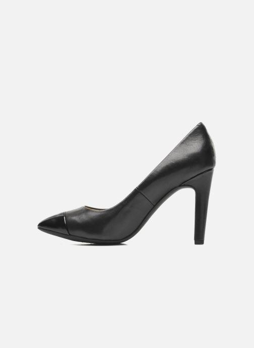 High heels Geox D CAROLINE B D44W1B Black front view