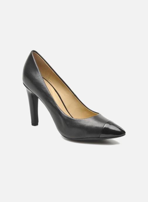 Høje hæle Geox D CAROLINE B D44W1B Sort detaljeret billede af skoene
