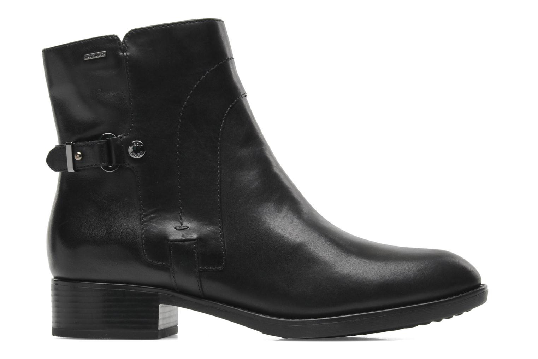 Boots en enkellaarsjes Geox D FELICITY ABX D44X9A Zwart achterkant