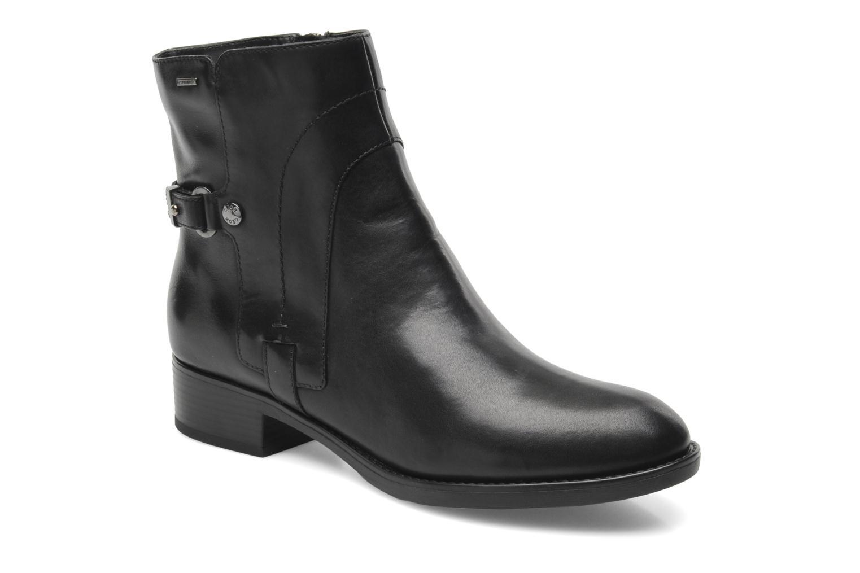 Boots en enkellaarsjes Geox D FELICITY ABX D44X9A Zwart detail