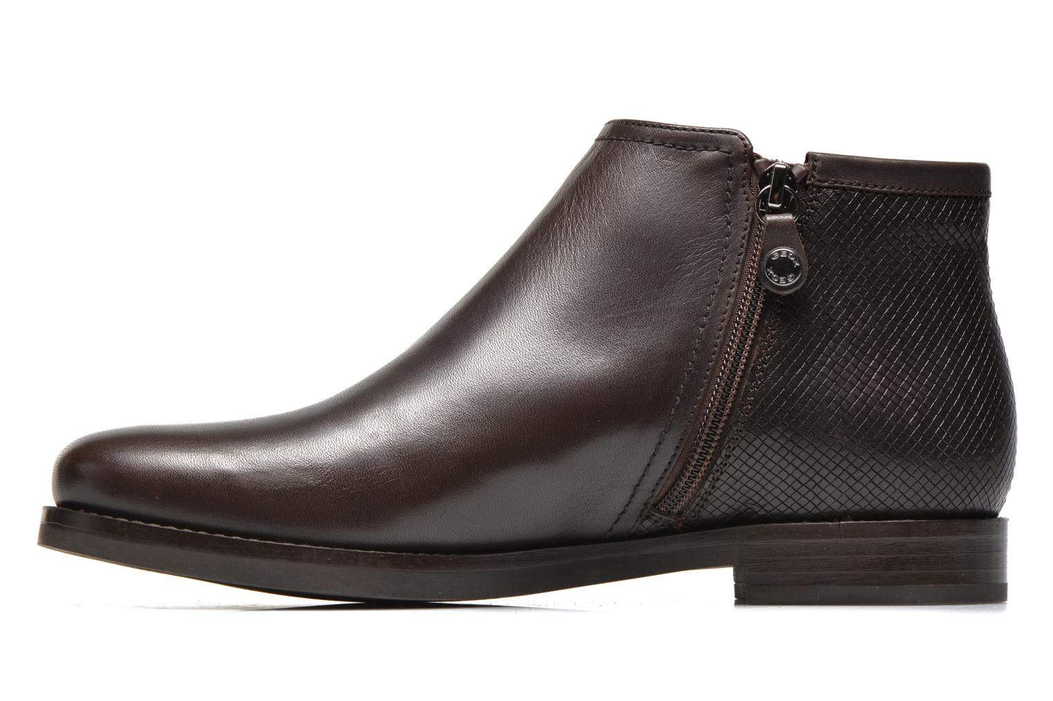 Ankle boots Geox D PROMETHEA F D44R3F Brown front view