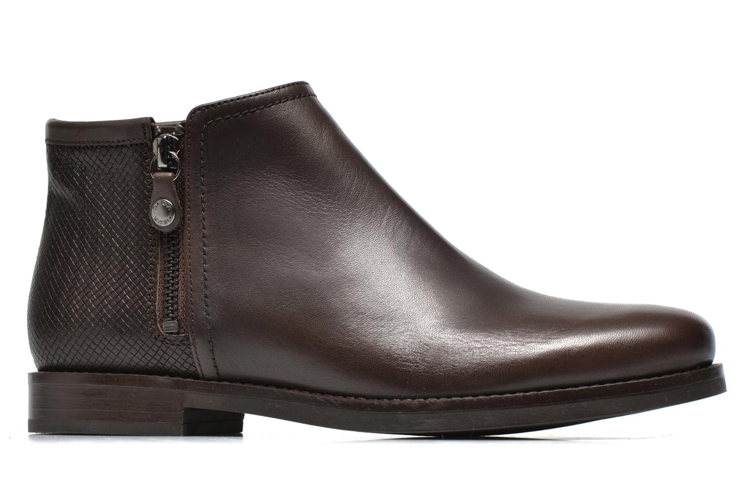 Ankle boots Geox D PROMETHEA F D44R3F Brown back view