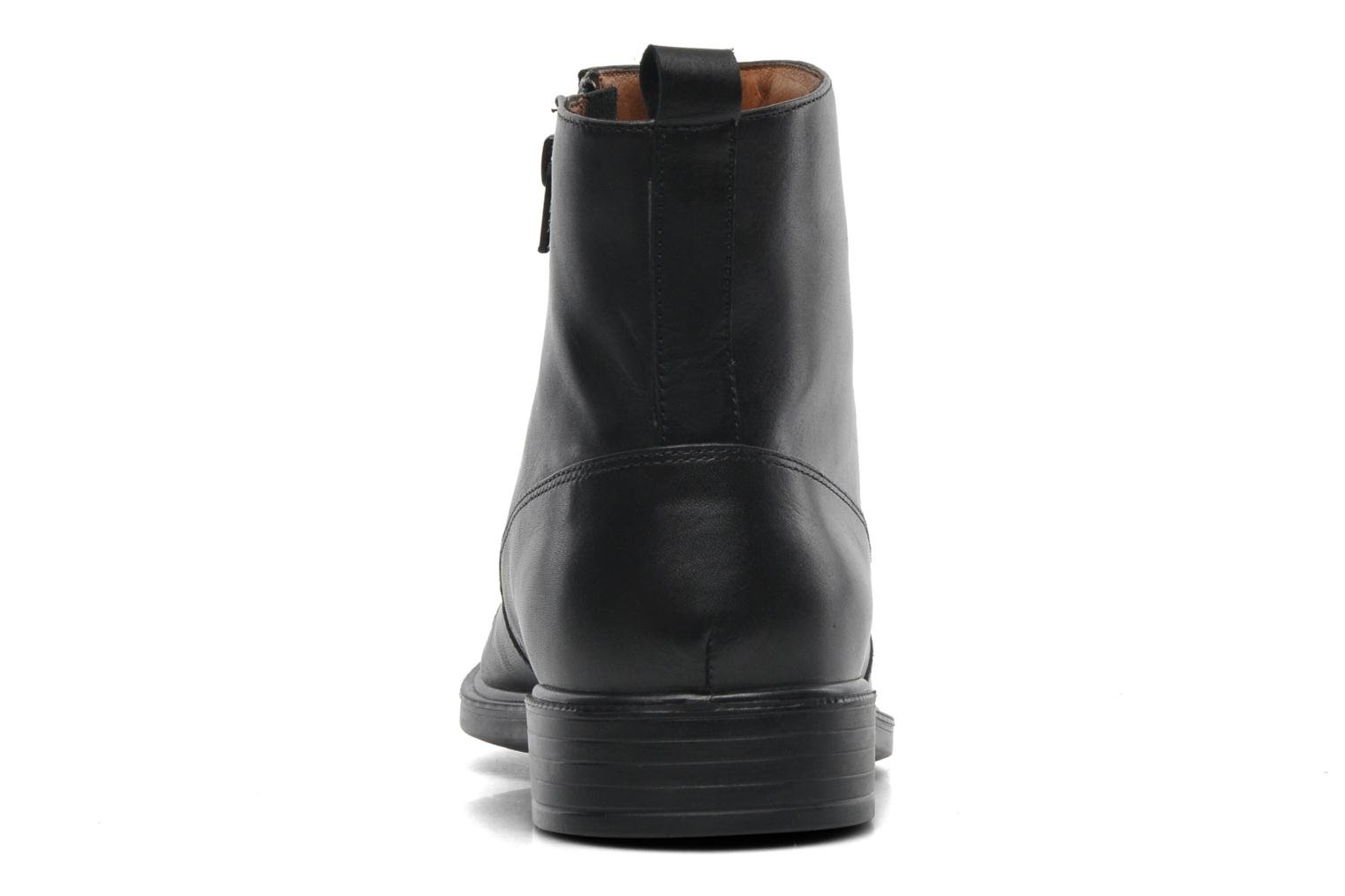Ankle boots Geox U LORIS A ABX D U44C6D Black view from the right