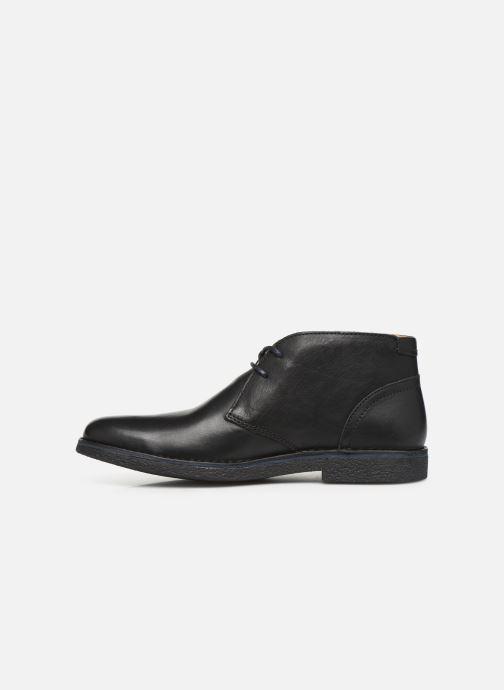 Zapatos con cordones Kickers Mistic Negro vista de frente