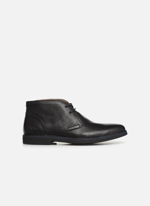 Zapatos con cordones Kickers Mistic Negro vistra trasera