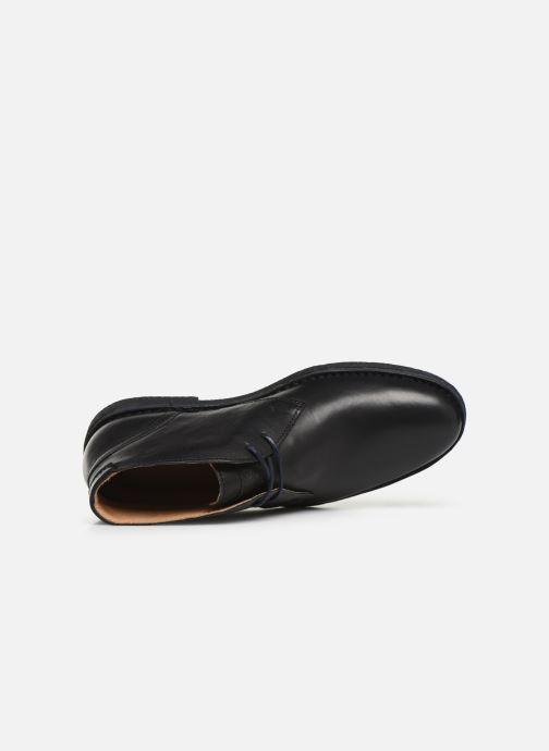 Zapatos con cordones Kickers Mistic Negro vista lateral izquierda