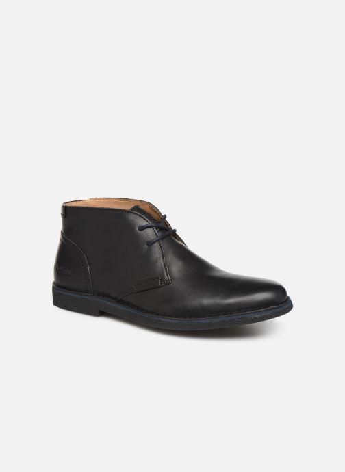 Zapatos con cordones Kickers Mistic Negro vista de detalle / par