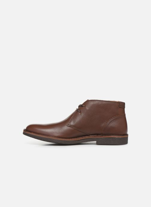 Zapatos con cordones Kickers Mistic Marrón vista de frente