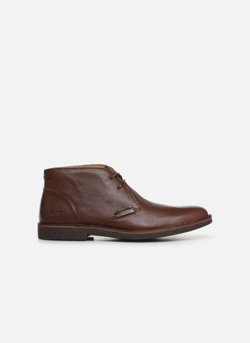 Zapatos con cordones Kickers Mistic Marrón vistra trasera