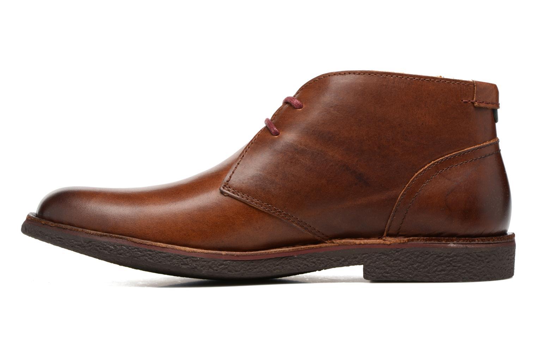 Chaussures à lacets Kickers Mistic Marron vue face