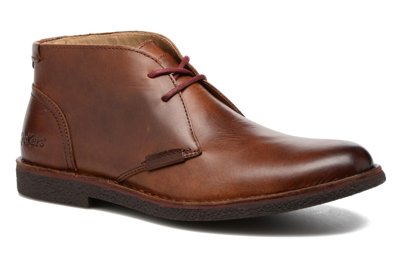 Chaussures à lacets Kickers Mistic Marron vue détail/paire
