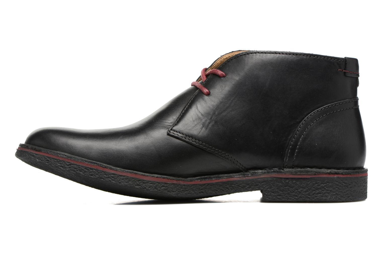 Chaussures à lacets Kickers Mistic Noir vue face