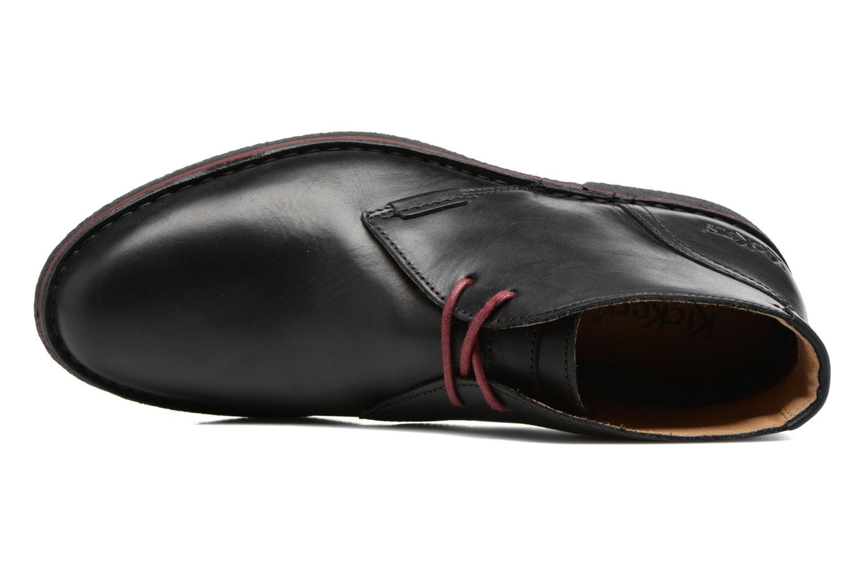 Chaussures à lacets Kickers Mistic Noir vue gauche