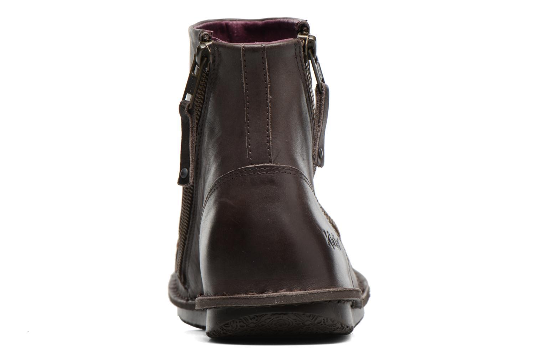 Bottines et boots Kickers Waouh Marron vue droite