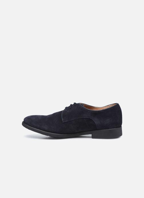 Chaussures à lacets Les Flèches de Phébus Derby R Bleu vue face