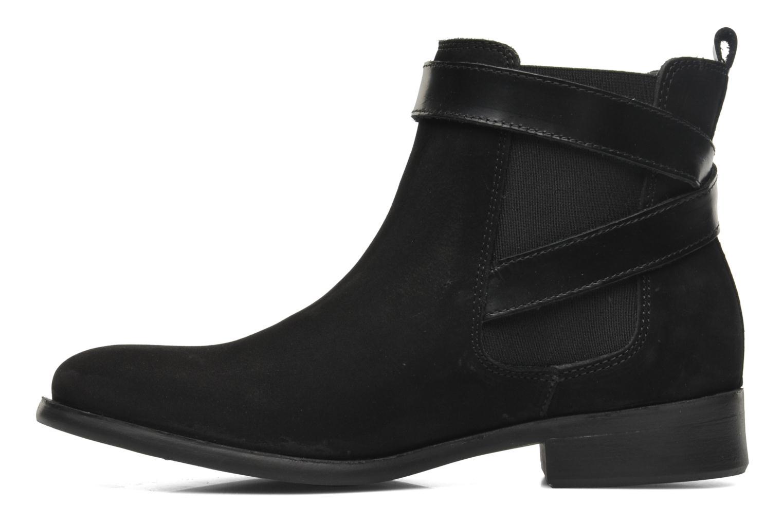 Bottines et boots Pieces Izi Noir vue face