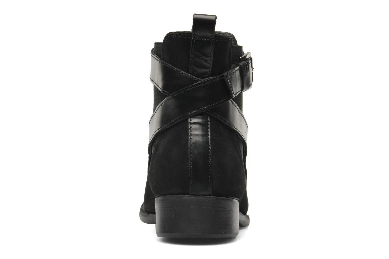 Bottines et boots Pieces Izi Noir vue droite