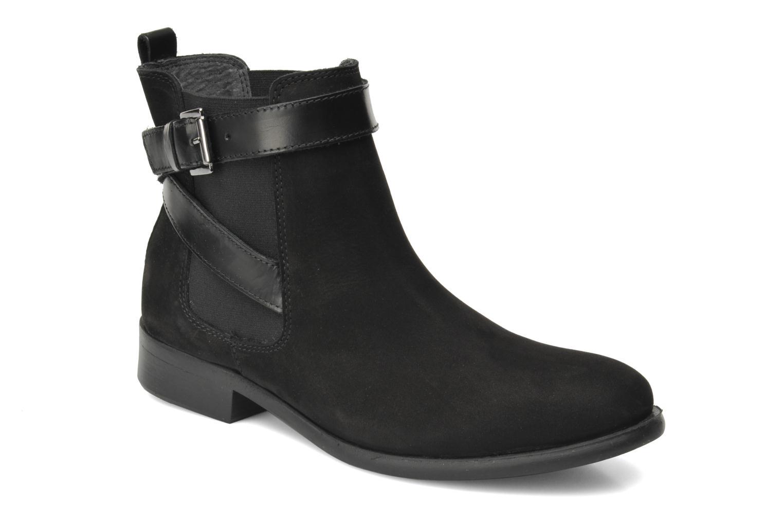 Bottines et boots Pieces Izi Noir vue détail/paire