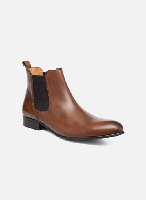 Bottines et boots Brett & Sons Bret Marron vue détail/paire