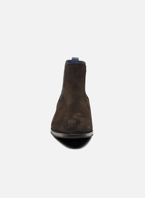 Bottines et boots Brett & Sons Blaure Marron vue portées chaussures