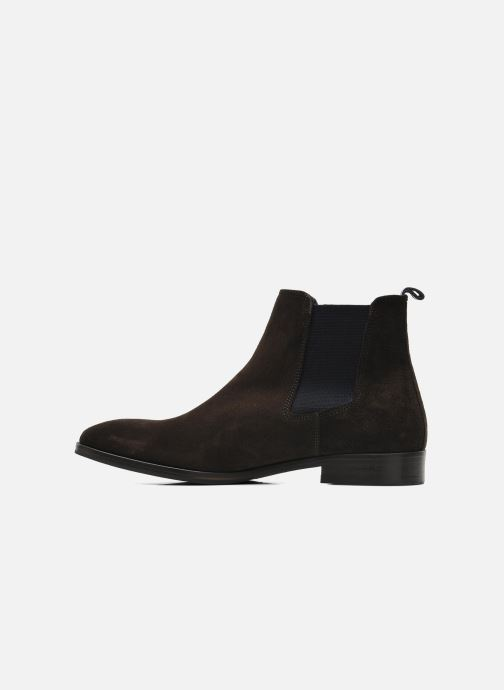 Ankle boots Brett & Sons Blaure Brown front view