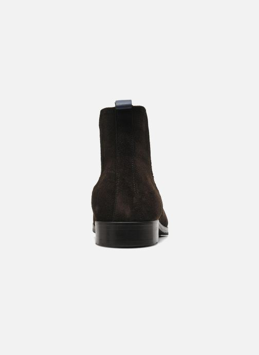 Ankle boots Brett & Sons Blaure Brown view from the right