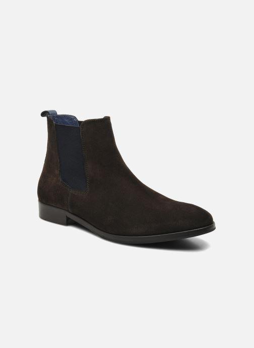 Ankelstøvler Brett & Sons Blaure Brun detaljeret billede af skoene