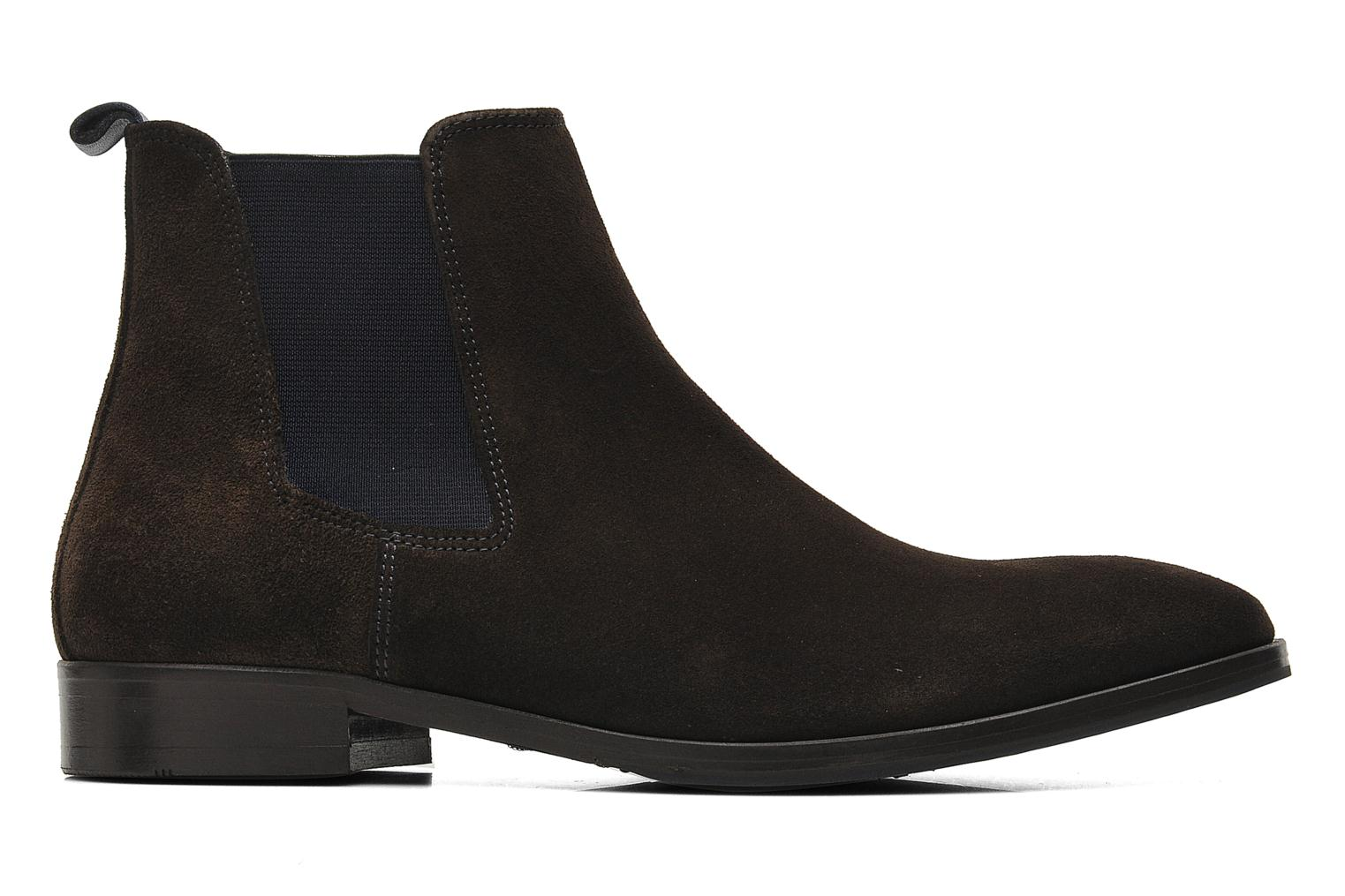 Ankle boots Brett & Sons Blaure Brown back view
