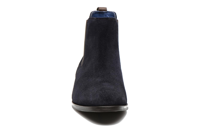 Bottines et boots Brett & Sons Blaure Bleu vue portées chaussures