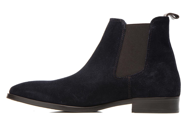 Bottines et boots Brett & Sons Blaure Bleu vue face