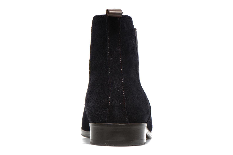 Bottines et boots Brett & Sons Blaure Bleu vue droite