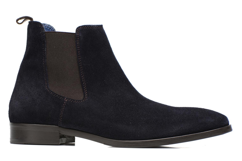 Bottines et boots Brett & Sons Blaure Bleu vue derrière