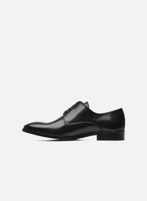 Schnürschuhe Brett & Sons Bari schwarz ansicht von vorne
