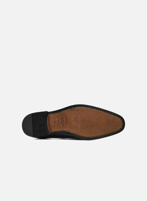 Zapatos con cordones Brett & Sons Bari Negro vista de arriba