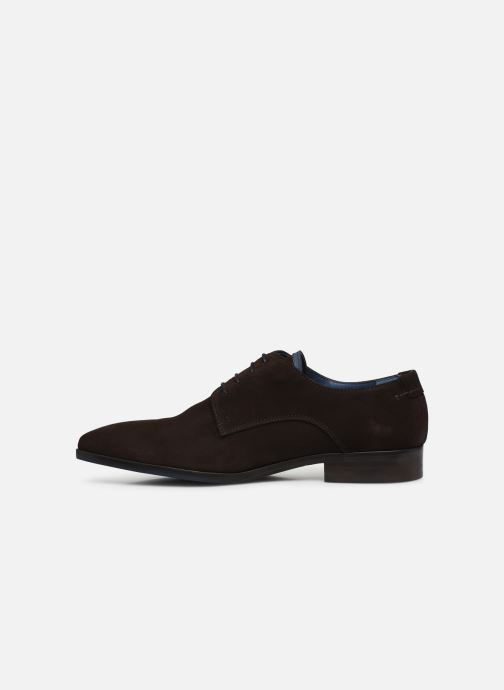 Lace-up shoes Brett & Sons Bari Brown front view