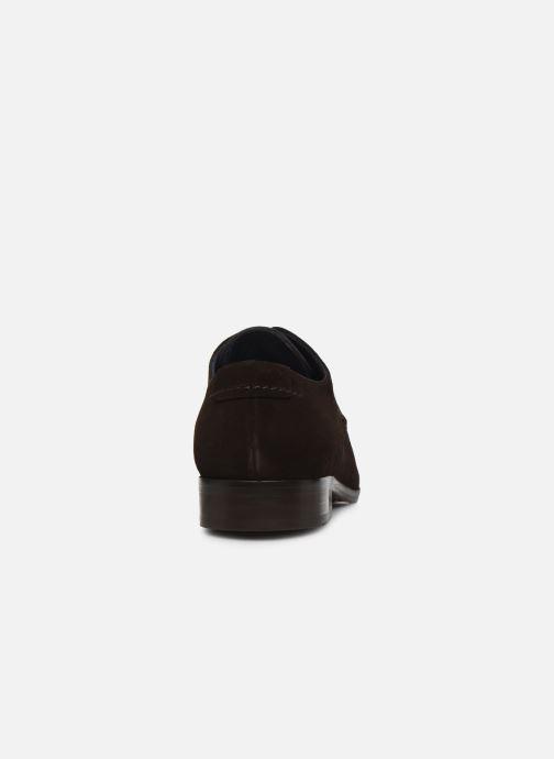Zapatos con cordones Brett & Sons Bari Marrón vista lateral derecha