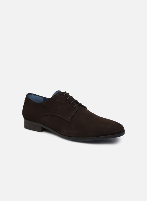 Lace-up shoes Brett & Sons Bari Brown detailed view/ Pair view