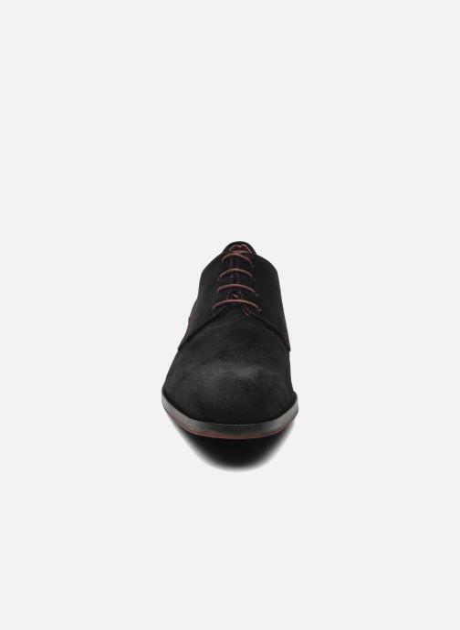 Scarpe con lacci Brett & Sons Bari Nero modello indossato